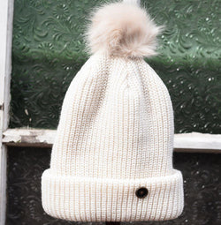 Fallen Broken Street The Wooly Wally Kids Beanie White