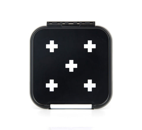 Bento Two White Cross (Black Box)