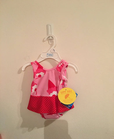 Ice cream one piece swimming costume