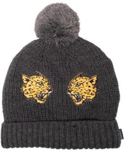 Band of Boys Beanie Fang Pom Pom Charcoal