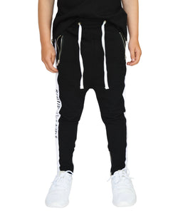 Beau Bella Panel Joggers Black