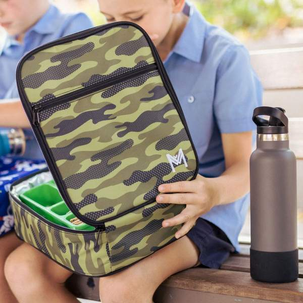 MontiiCo Insulated Lunch Bag Camouflage