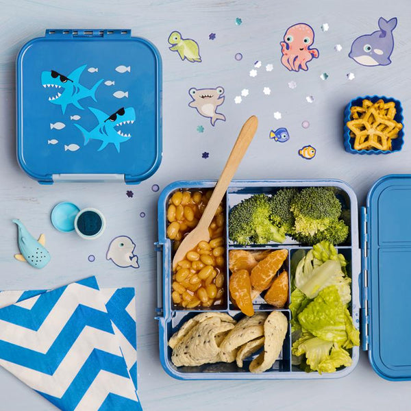 Bento Five Shark Little Lunch Box Co