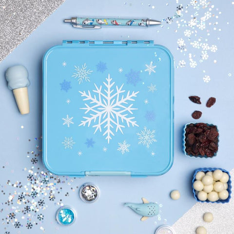 Bento Three Snowflake Lunch Box Little Lunch Box Co