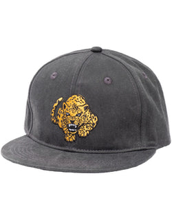 Band of Boys Fierce Leopard Hip Hop Cap Vintage Black