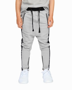 Beau Bella Panel Joggers Grey