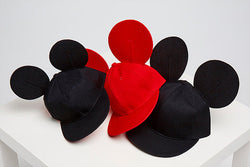 Mickey Snap Cap Black