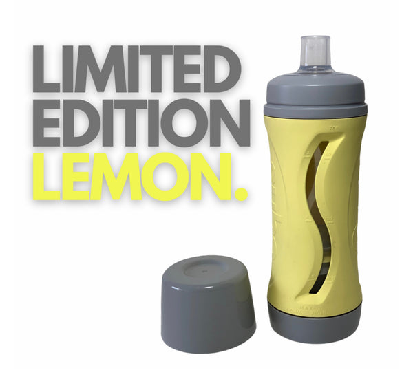 Lemon/Grey Subo Food Bottle