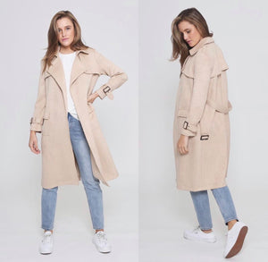 Ladies Trench Coat Chestnut