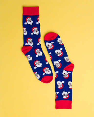 Santa is Coming Socks