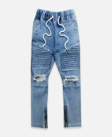 Beau Bella Acid Wash Blue Jeans
