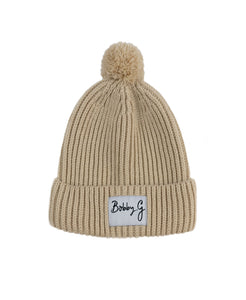 Knit Beanie Wheat Bobby G