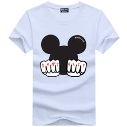 Beau X Mouse Tee White
