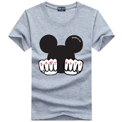 Beau X Mouse Grey Tee