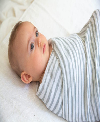 Going Grey Bamboo Bellies and Beyond Baby wrap
