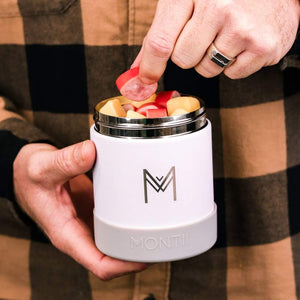 Insulated Food Jar White Montiico
