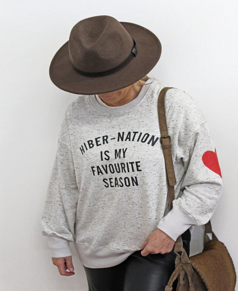 Hibernation Sweat Marle Grey