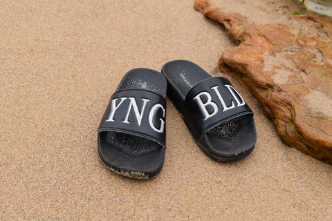 Young Blood Apparel Slides
