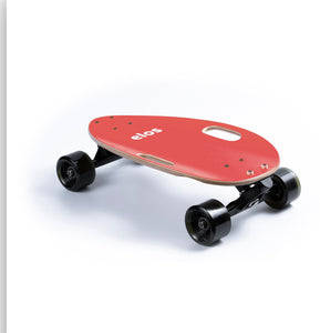 Elos lightweight skateboard coral red