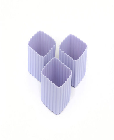 Bento Cups Purple Square
