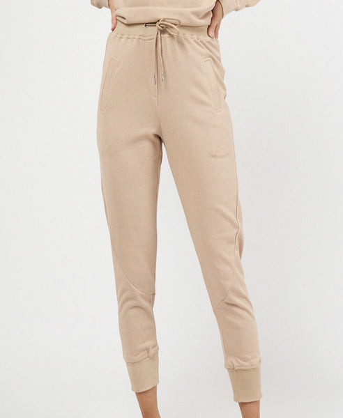 Caramel Ladies Joggers