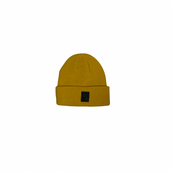 Mustard Medium Jelly Tot Fisherman's Beanie