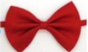 Red Childrens Bow Tie
