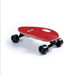 Elos lightweight skateboard lightweight maroon red