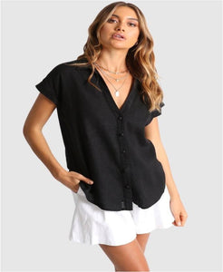 Hollie shirt black