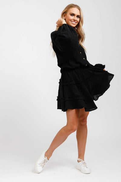 Penzance Dress Black
