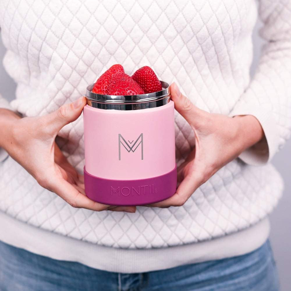 Insulated Food Jar Dusty Pink MontiiCo