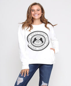 Milan Paris White Sweater