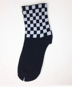 Checkmate black socks