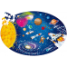 Sassi Travel, Learn and Explore - Puzzle and Book Set - Space, 205 pcs