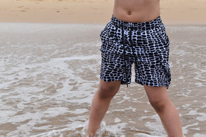 Alligator Board Shorts Young Blood Apparel