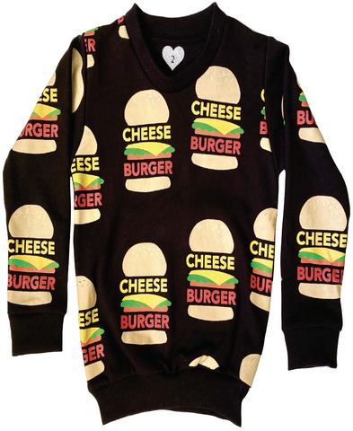 Cheese Burger Doo Wop Jumper
