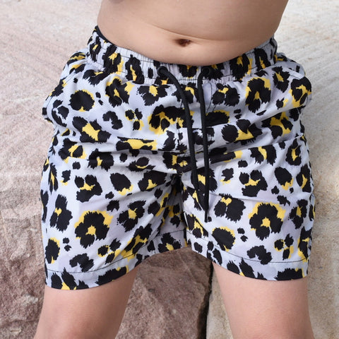 Leopard Board Shorts Young Blood Apparel