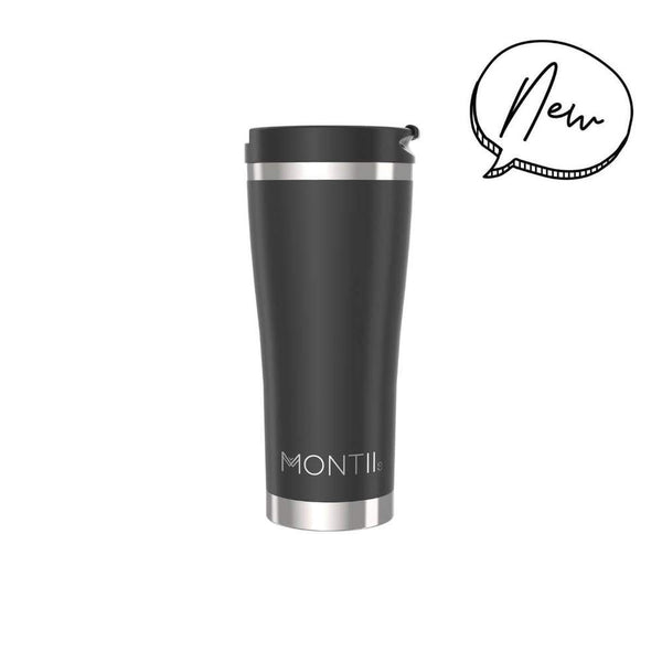 Mega Coffee Cup Black MontiiCo