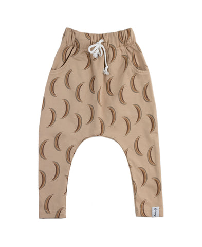Half Moon Harem Pants Wheat Bobby G