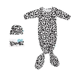 Leopard Knotted Onsie