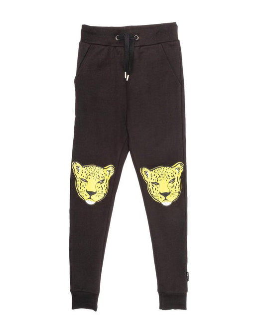 Leopard Face Skinny Trackies