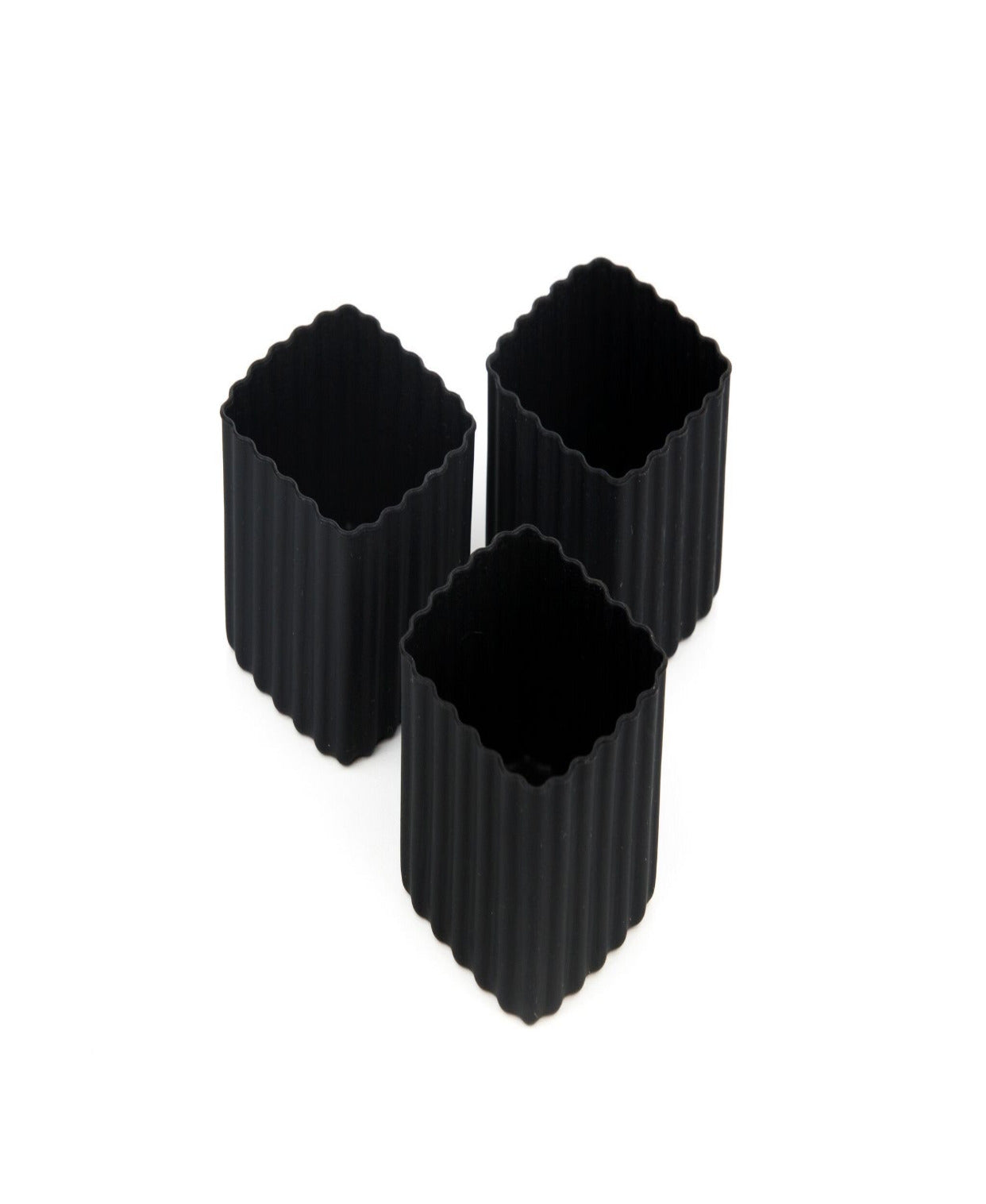 Bento cups black square