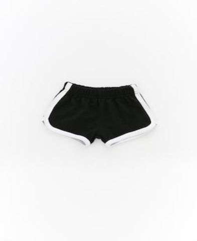 Little Edge Black runner Shorts
