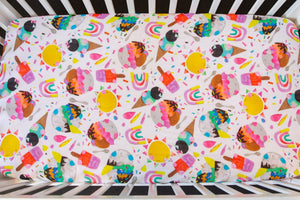 Summer Dreams Cot Sheet