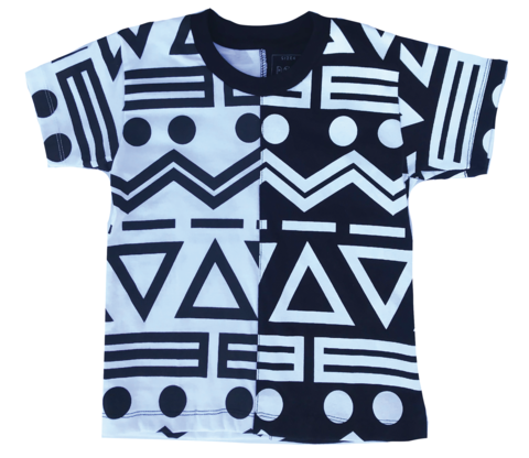 Doo Wop Black and White Tee