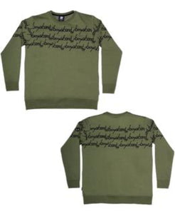 Band of Boys Jumper Band of Stripes Classic Green