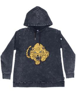 Band of Boys Jumper Fierce Leopard A-Line Hood Vintage Black