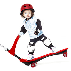 Ookkie Kids Skateboard Red