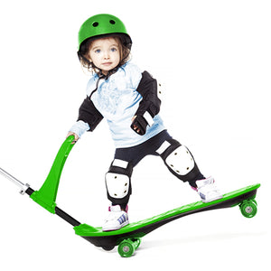 Ookkie Kids Skateboard Green