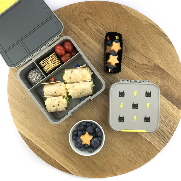 Bento Three Superhero Lunch Box (Limited edition)